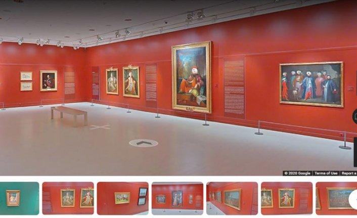 Pera Müzesi ve İstanbul Araştırmaları Enstitüsü sergilerini 'sanal seyahate' açtı