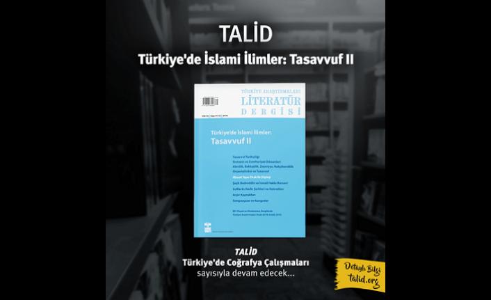 TALİD Türkiye Araştırmaları Literatür Dergisi arşivini erişime açtı
