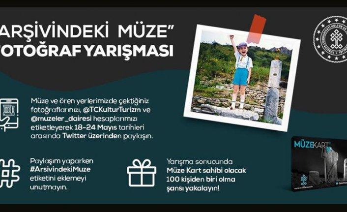 'Arşivindeki Müze Fotoğraf' yarışması