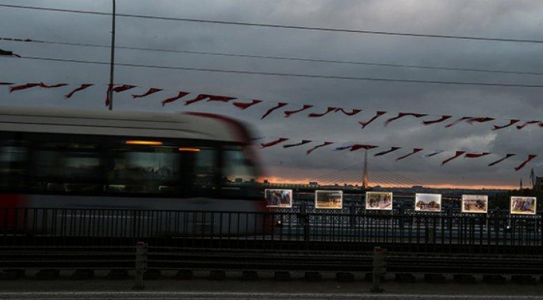 '15 Temmuz İstiklal Sergisi' Galata Köprüsü üzerinde açıldı