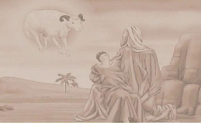 Allah'a teslimiyetin zirvesidir Hz. İsmail (sa)
