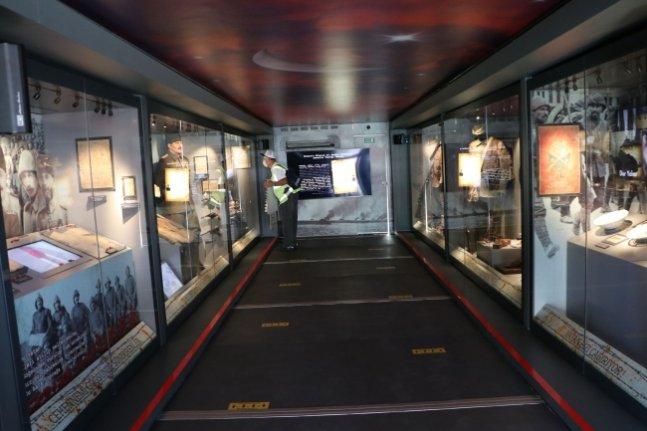 Çanakkale Savaşları Mobil Müzesi yarından itibaren İstanbul'da