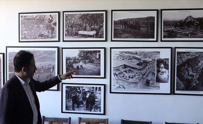 Hattuşa'daki 350 yıllık konak asırlık kazılar için 'anı evi'ne dönüştürüldü