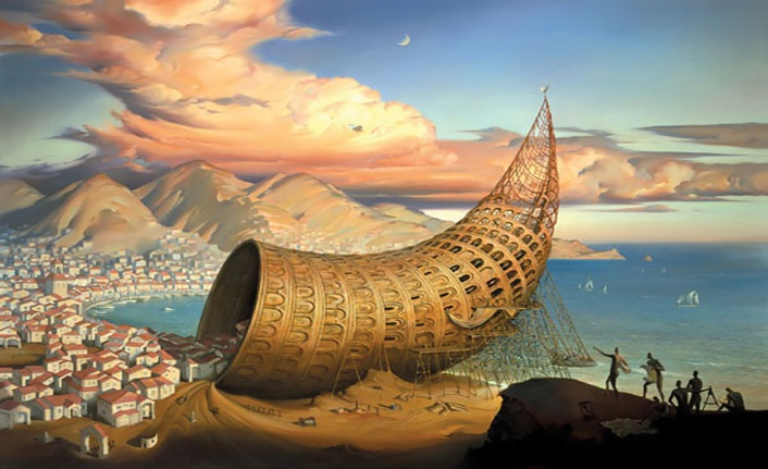 Metaforlarla matematiksel zekânın bileşkesi: Ölüler Evine Yolculuk