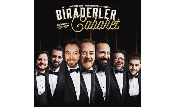 Biraderler Cabaret İzmir Kültürpark Açıkhava Tiyatrosu'nda Sahne Alacak