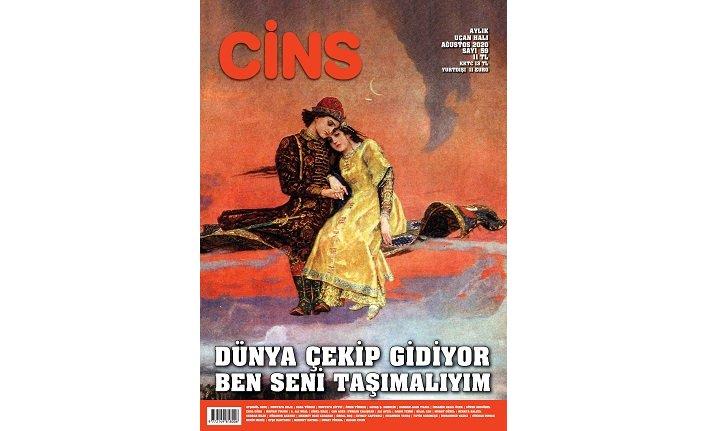 Cins dergisi Ağustos sayısı çıktı