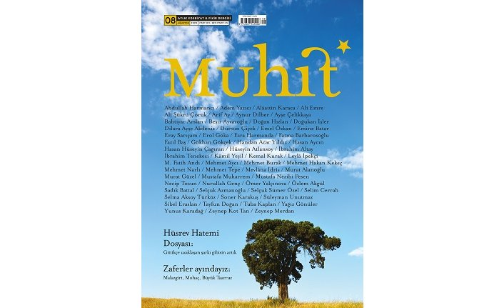 Edebiyat ve fikriyat dergisi Muhit yeni sayısıyla raflarda yerini aldı
