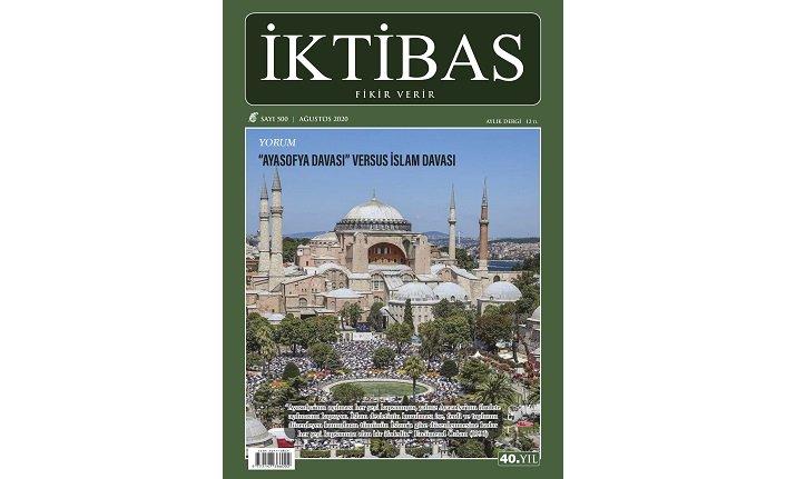 İktibas dergisi 500. sayıya ulaştı