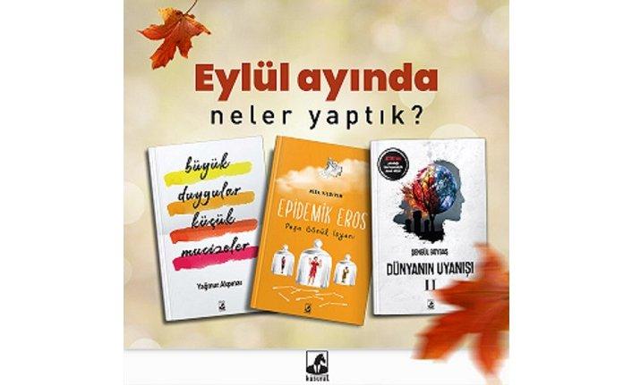 Küsurat Yayınları'ndan Eylül seçkisi!