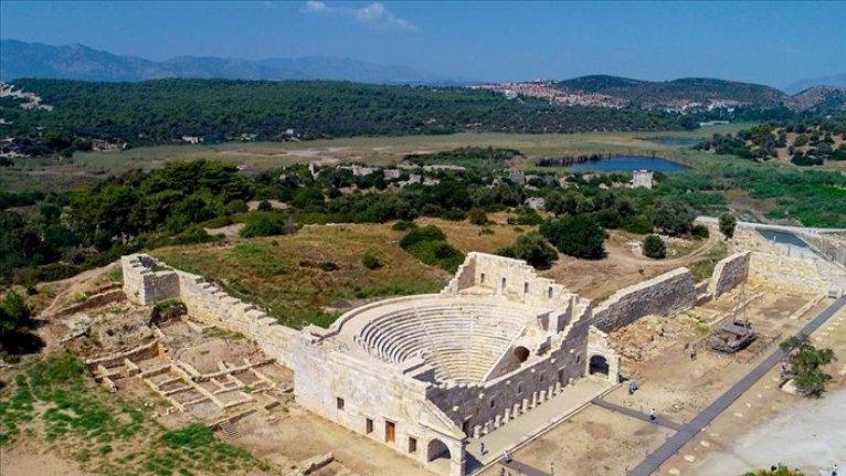 Patara Antik Kenti eski ihtişamına kavuşuyor