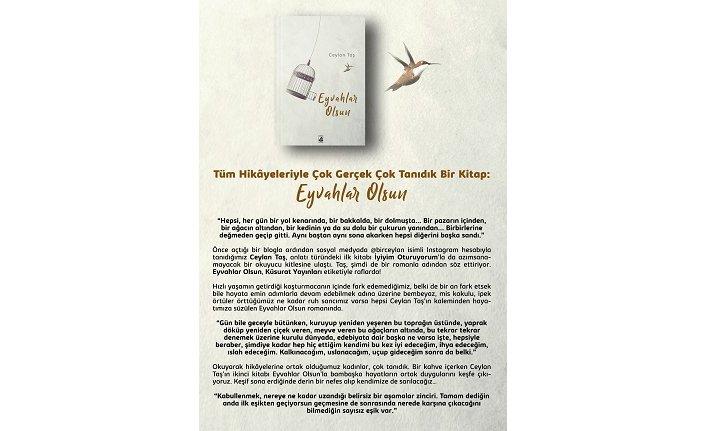 Küsurat Yayınları'ndan tüm hikayeleriyle, çok gerçek ve çok tanıdık bir kitap: Eyvahlar Olsun