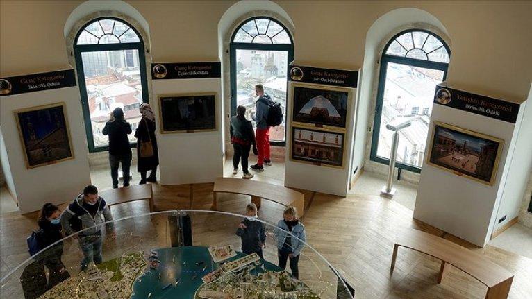 Galata Kulesi'nde 'Vakıf Medeniyeti' fotoğraf sergisi açıldı