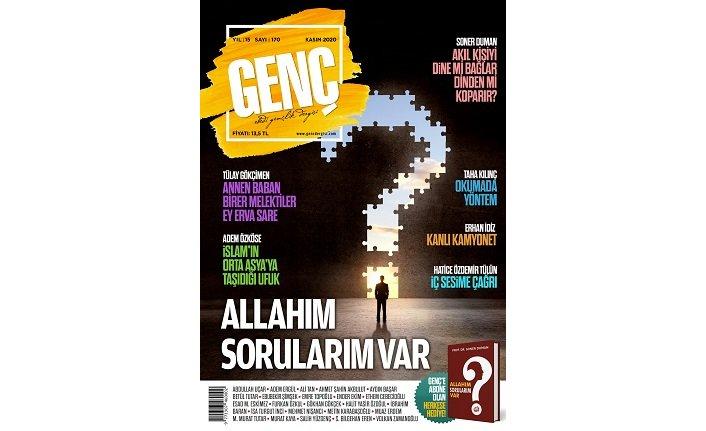 Genç Dergisi'nin Kasım sayısının gündeminde sorusu olan gençler var!