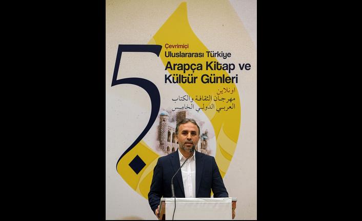 5. Uluslararası Türkiye Arapça Kitap ve Kültür Günleri başladı