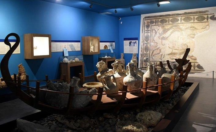 Alanya Müzesinde medeniyetler tarihine yolculuk