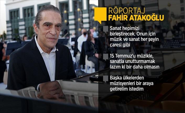 Fahir Atakoğlu: Filme müzik yapmayı çok seviyorum, bütün kalbimi veriyorum