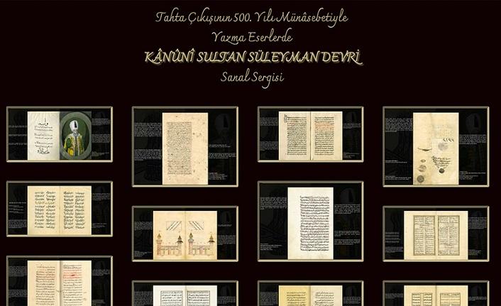 Kanuni Sultan Süleyman tahta çıkışının 500'üncü yılında sanal sergiyle anılıyor