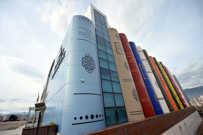 Kitap tasarımlı kütüphanedeki kaynaklar salgın sürecinde elektronik ortamda okundu