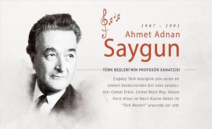 Türk Beşleri'nin profesör sanatçısı: Ahmet Adnan Saygun