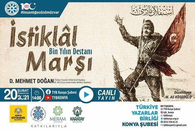 D. Mehmet Doğan: İstiklâl Marşı, Âkif'in muhayyilesinde vardı