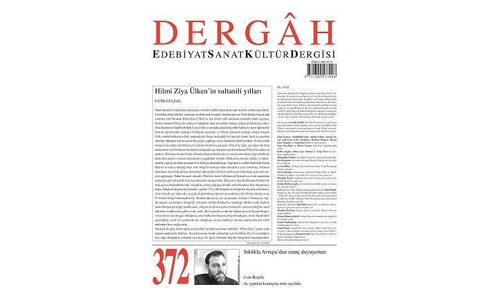 Dergah Dergisi'nin 372. sayısı çıktı