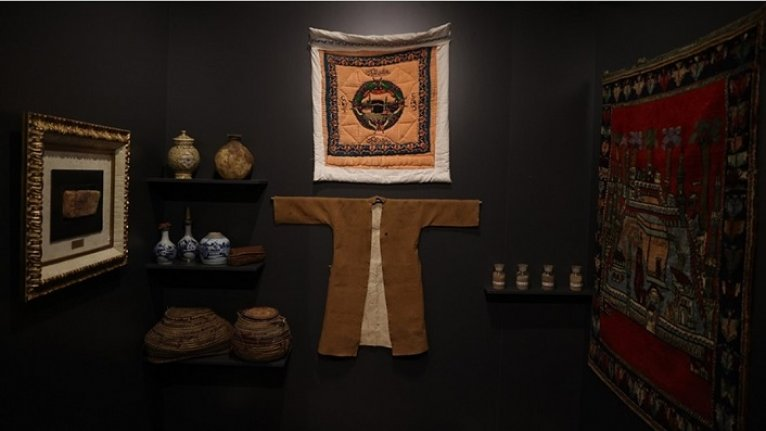 Mukaddes Yol: Osmanlıdan Günümüze Kabe Örtüleri ve Hac Hatıraları Sergisi