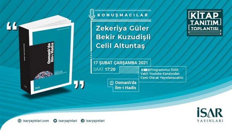Osmanlı'da İlm-i Hadis kitap tanıtım toplantısı