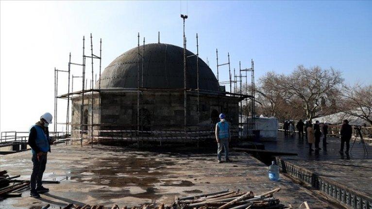 Tarihi Fatih Köşkü'ndeki restorasyon Nisan sonunda bitirilecek