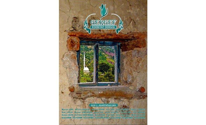 Gergef Edebiyat Dergisi'nin 2. sayısı yayımlandı