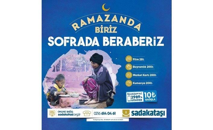 Sadakataşı Ramazan çalışmalarına başladı