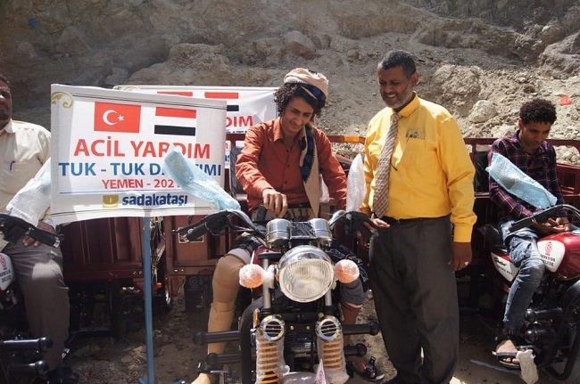 Sadakataşı'ndan Yemen'e gelir temini desteği