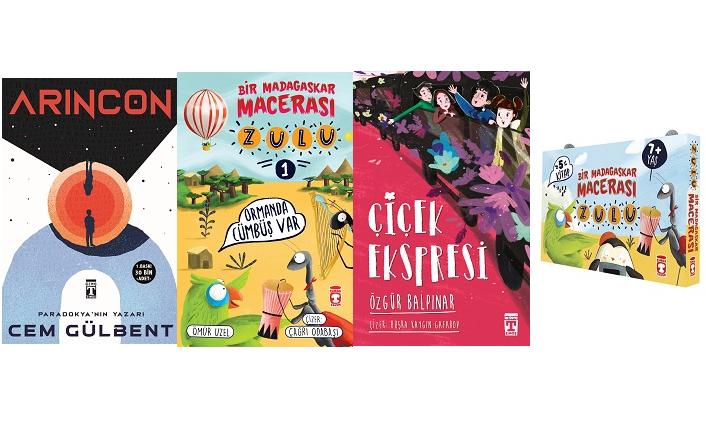 Timaş Çocuk, İlk Genç ve Genç Timaş'tan yeni kitaplar...