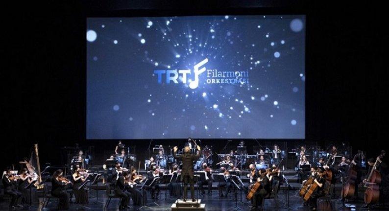 TRT Filarmoni Orkestrası gala konseri yapıldı
