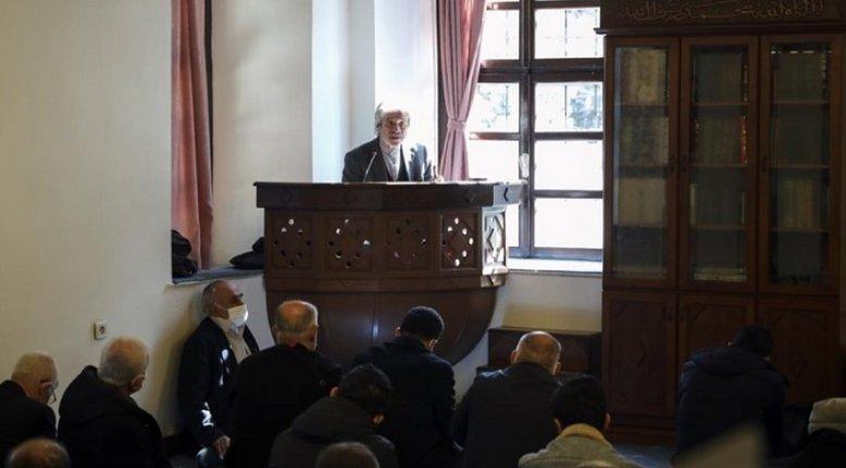 TYB Vakfı Başkanı Mehmet Doğan Taceddin Dergahı'nda İstiklal Marşı'nın nasıl yazıldığını anlattı