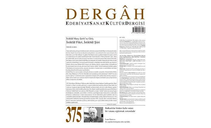 Dergah Dergisi'nin 375. sayısı çıktı