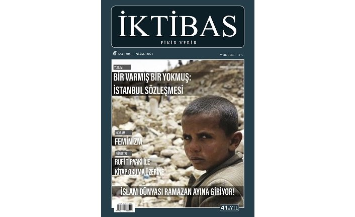 İktibas Dergisi Nisan sayısı çıktı