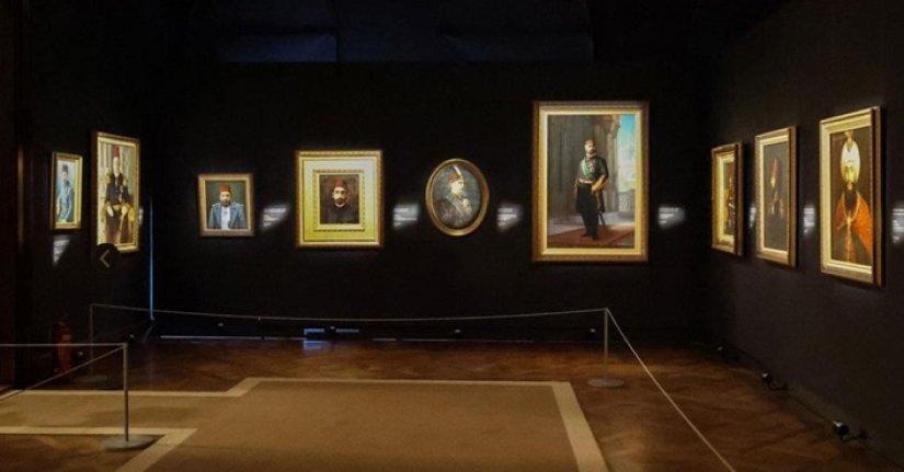 Osmanlı saray resminin tek temsilcisi Milli Saraylar Resim Müzesi ziyaretçilerini bekliyor