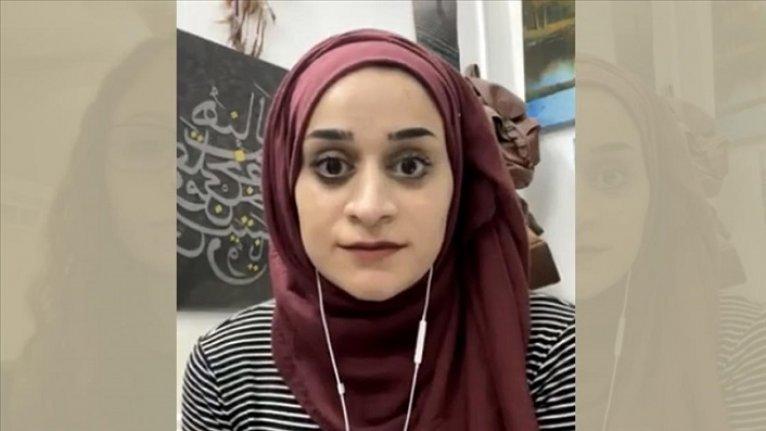 Mescid-i Aksa'yı savunurken göz altına alınan sanatçı Mariam Afifi, Filistin'in direnmeye devam edeceğini söyledi