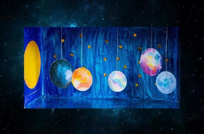 """Babalar Günü'ne Özel Çevrimiçi Sergi Turu ve Atölye: """"Pastel Renkler Galaksisi"""""""