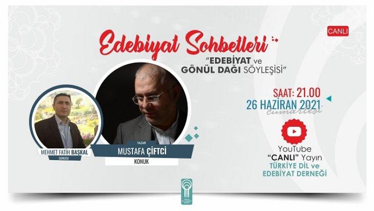 """Mustafa Çiftci: """"Yazmak kendini tanımaktır"""""""