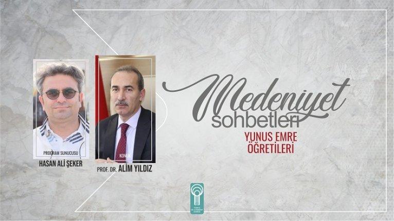 Prof. Dr. Alim Yıldız: Yunus Türk edebiyatının başlatıcısıdır
