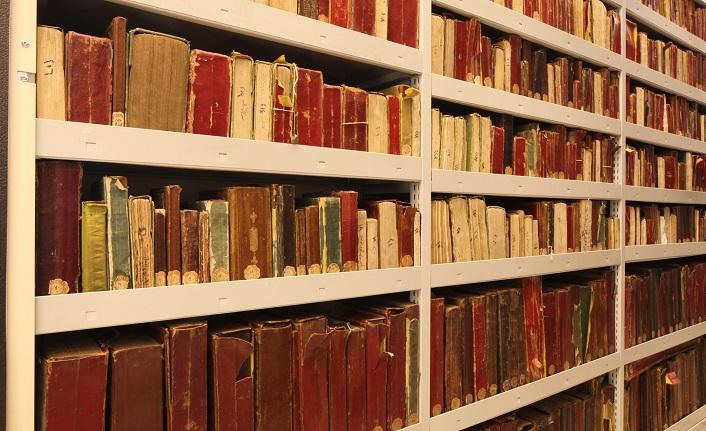 Revnakoğlu arşivinde tekke kütüphaneleri