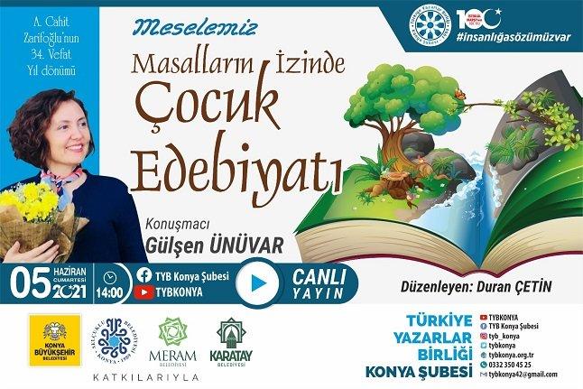 """TYB Konya'da: """"Meselemiz; masalların izinde çocuk edebiyatı"""" konuşuldu"""