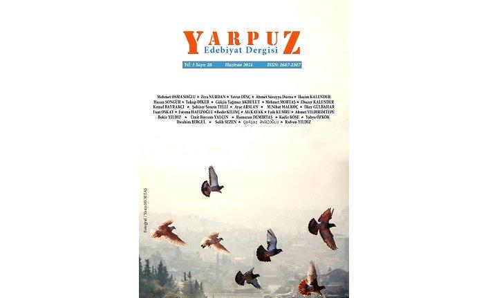 Yarpuz Edebiyat Dergisi 28. sayısıyla yayında