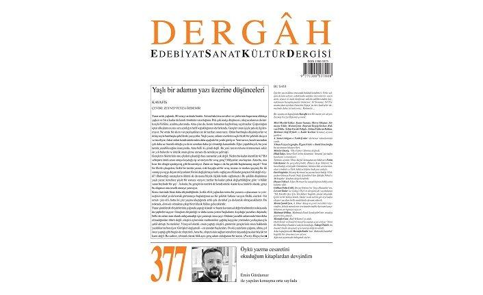 Dergâh Dergisi'nin 377. sayısı çıktı!
