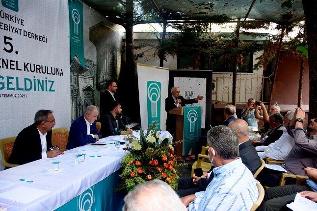 Türkiye Dil ve Edebiyat Derneği Ekrem Erdem başkanlığındaki yeni yönetimini seçti