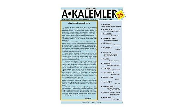 Akalemler Dergisi yeni sayı ile okurunu selamlıyor