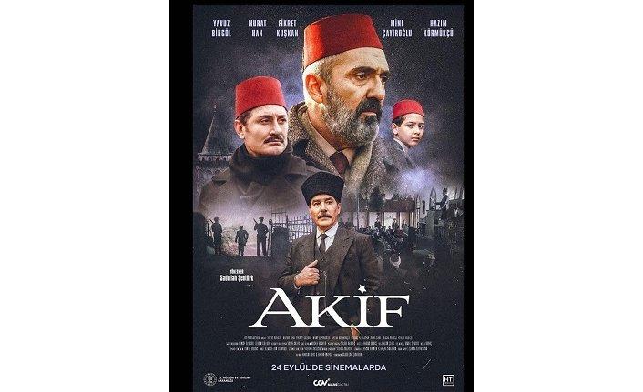 """""""Akif"""" sinema filminin çekimleri tamamlandı"""