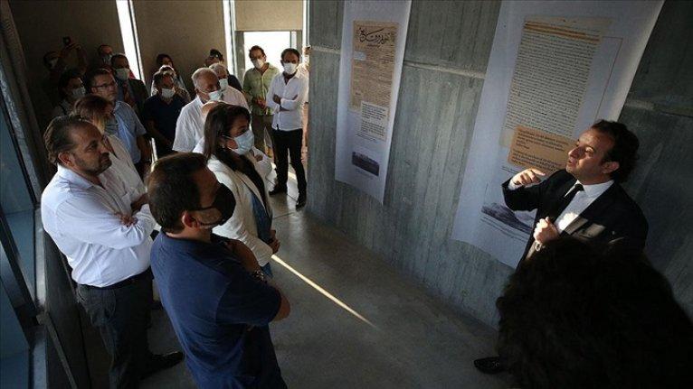 Çanakkale'de '150. Yılında Osmanlı Belgeleri Işığında Troya Kazıları' sergisi açıldı