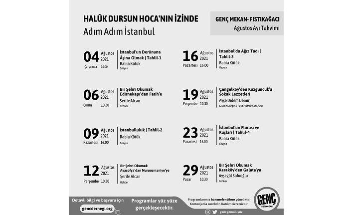Genç Mekan Fıstıkağacı ile adım adım İstanbul!